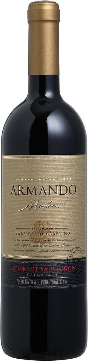 Vinho tinto Cabernet Sauvignon Armando Memória