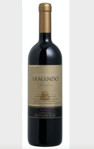 Vinho tinto Tannat Armando Memória