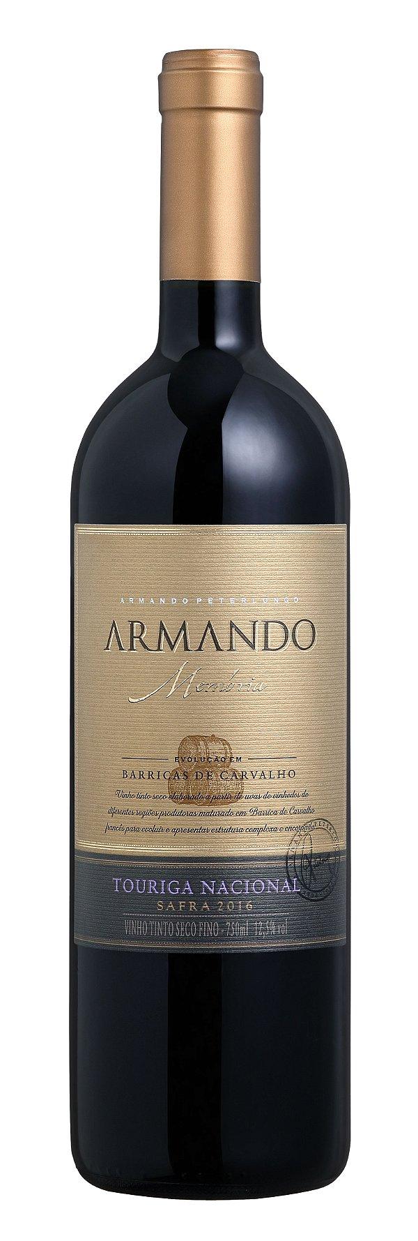 Vinho tinto Touriga Nacional Armando Memória