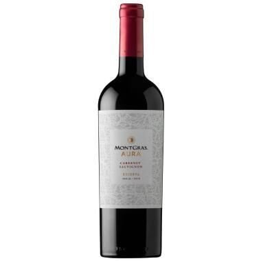 Vinho tinto Cabernet Sauvignon Reserva Montgras Aura