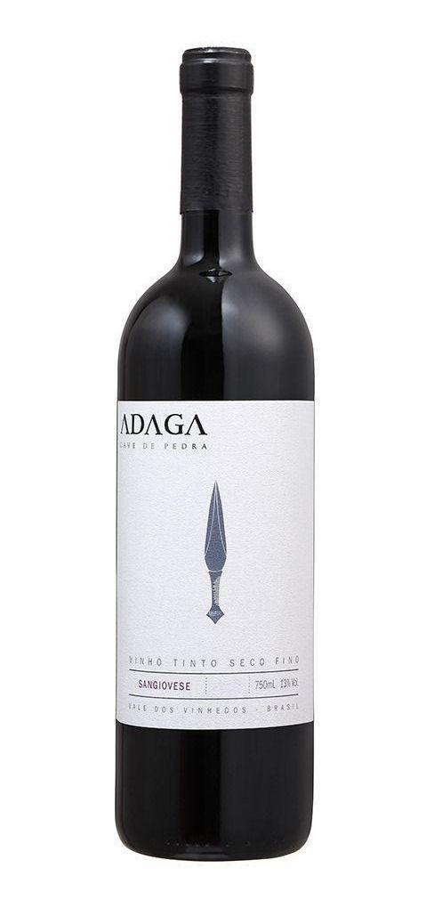 Vinho tinto Sangiovese Adaga Cave de Pedra