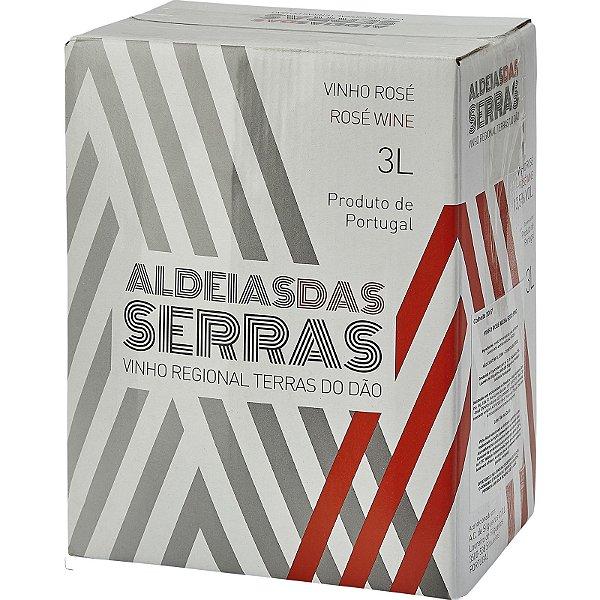 Bag in Box 3l Vinho Rosé Aldeias das Serras Regional Dão