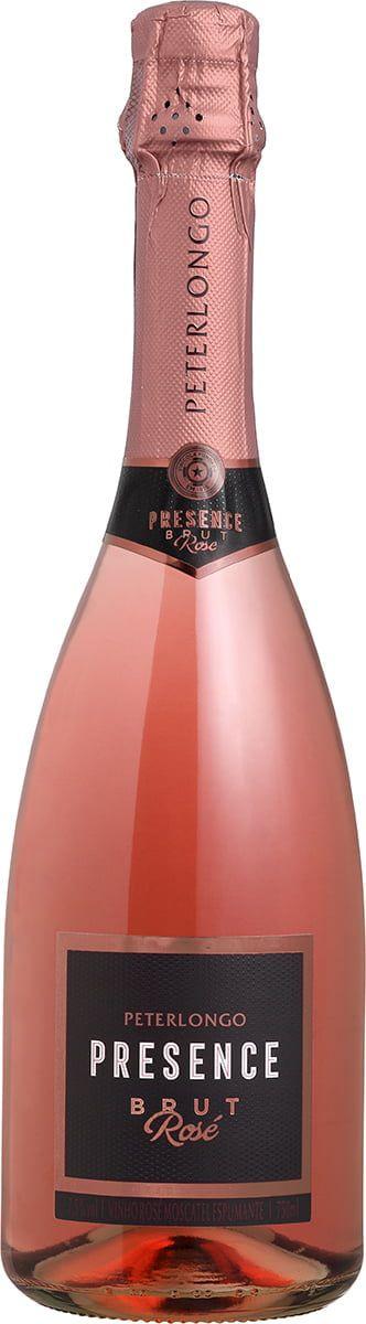 Espumante Rosé Brut Presence Peterlongo