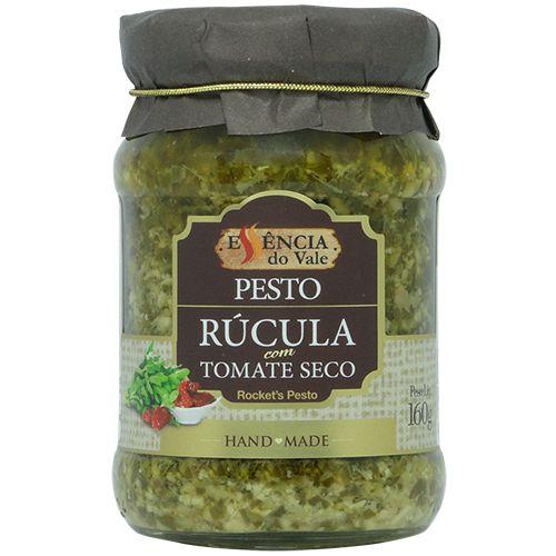 Pesto de Rúcula com Tomate Seco 160g Essência do Vale