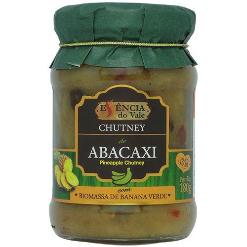 Chutney de Abacaxi 180g Essência do Vale