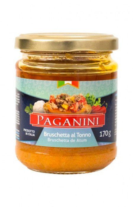 Bruschetta Al Tono (Atum) 170g Paganini
