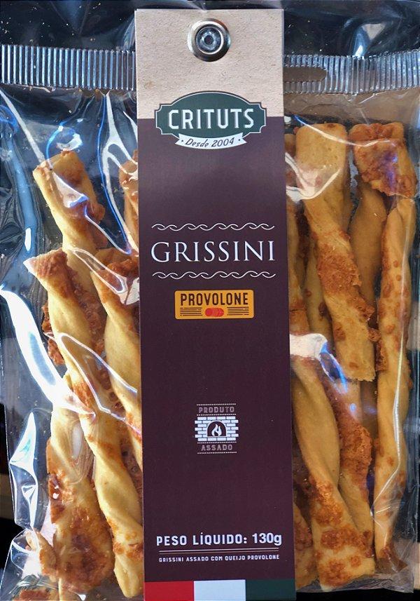 Grissini Artesanal Provolone 130g Crituts