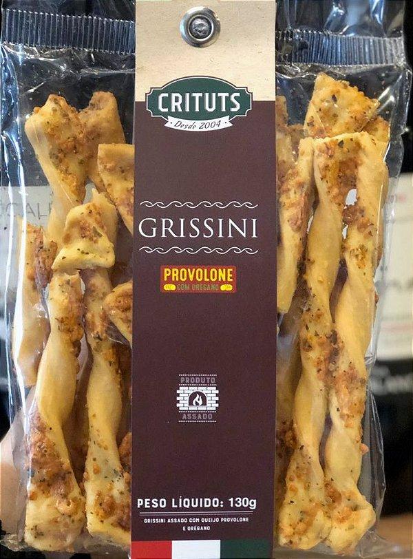 Grissini Artesanal Provolone & Orégano 130g Crituts