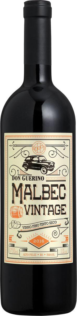 Vinho tinto Malbec Vintage Don Guerino