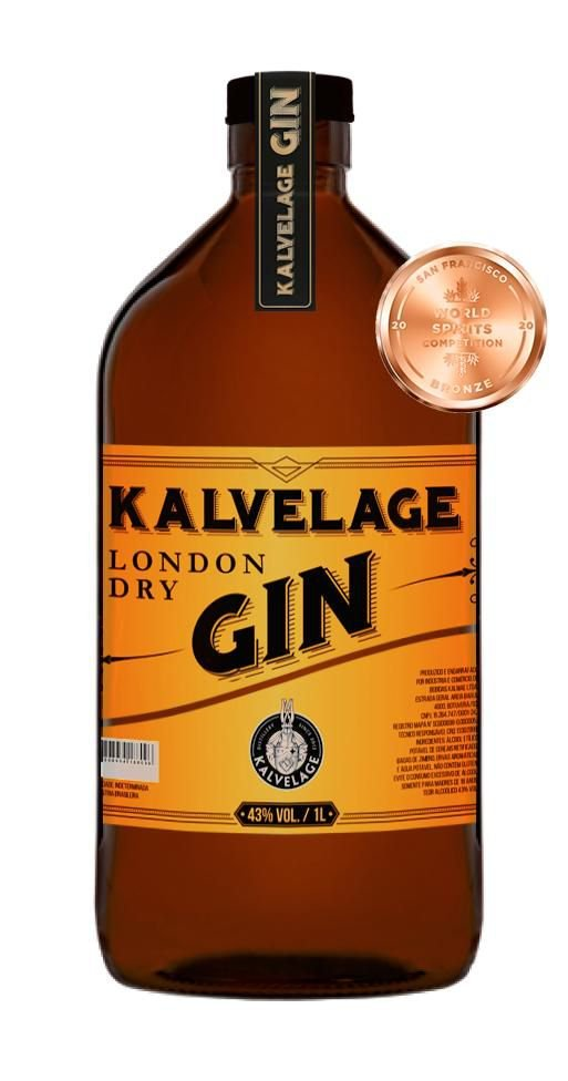 Gin London Dry Kalvelage 1l