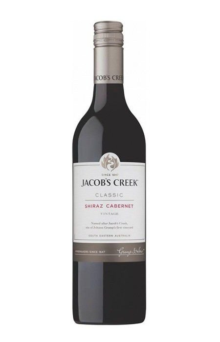 Vinho tinto Cabernet Sauvignon Shiraz Jacob's Creek