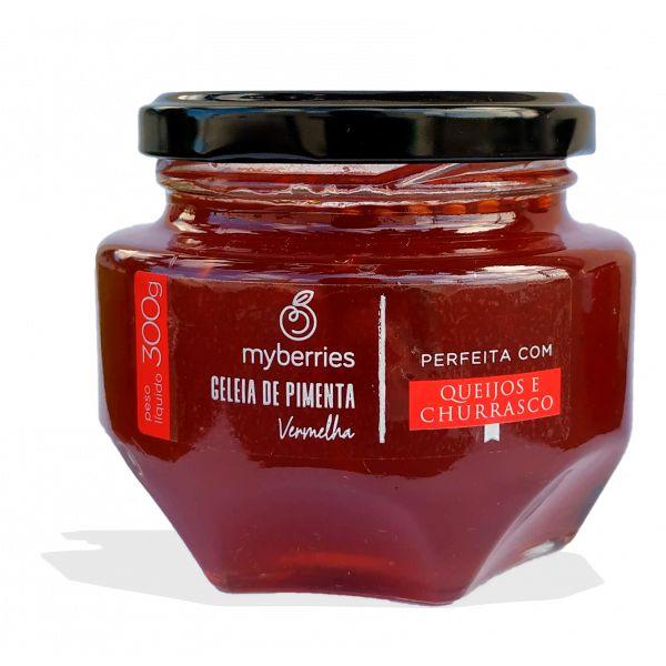 Geleia de Pimenta Vermelha 300g Myberries