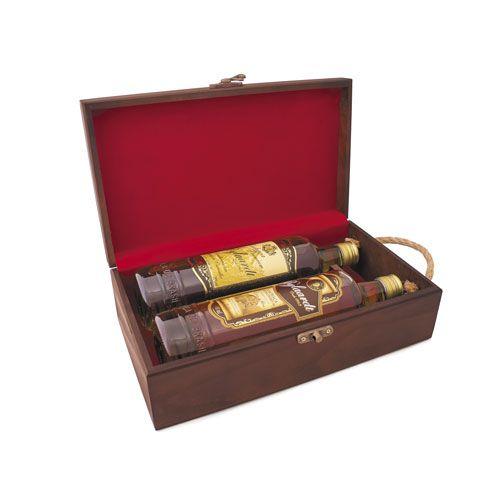 Caixa de Madeira para 2 garrafas Bylaardy