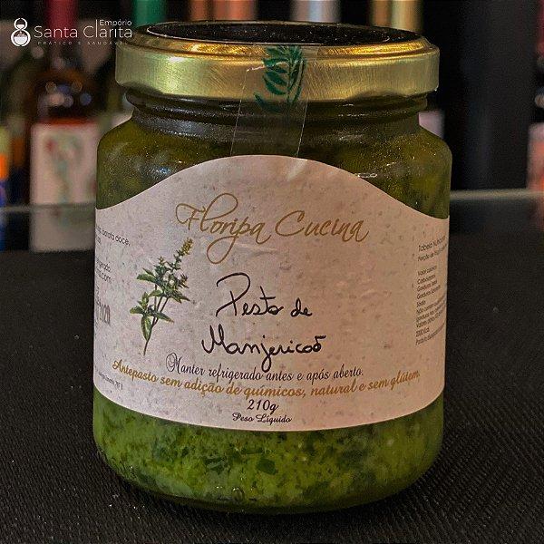 Pesto Artesanal de Manjericão 220g Floripa Cuccina