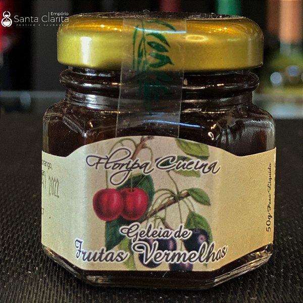 Mini Geleia Artesanal de Frutas Vermelhas 50g Floripa Cuccina