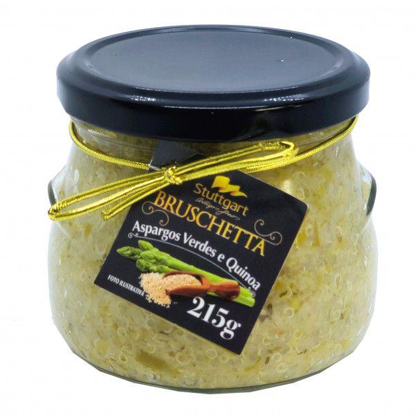 Bruschetta de Aspargos Verdes e Quinoa 215g