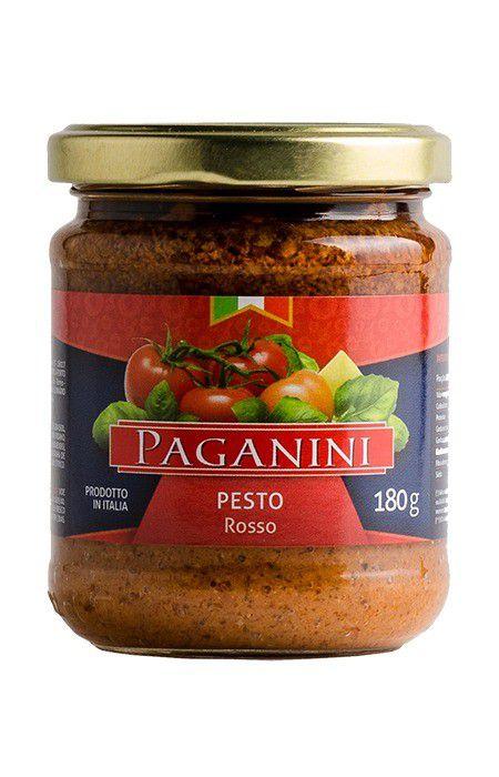 Pesto Rosso (Tomate Seco) Paganini 180g