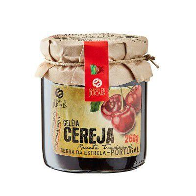 Geleia de Cereja 280g Quinta dos Jugais