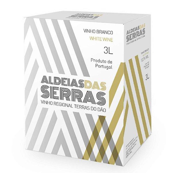Vinho branco Aldeias das Serras Regional Dão Bag in Box 3l