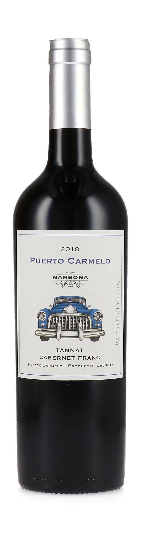 Vinho tinto Tannat Cabernet Franc Puerto Carmelo