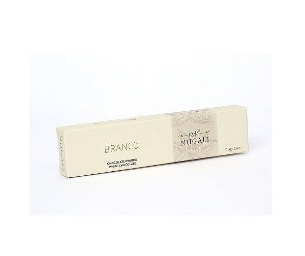 Chocolate Branco 40g Nugali