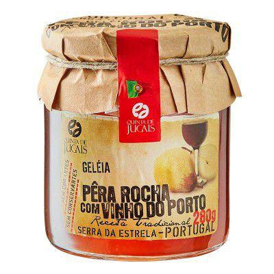 Geleia de Pêra Roxa com Vinho do Porto 280g Quinta dos Jugais