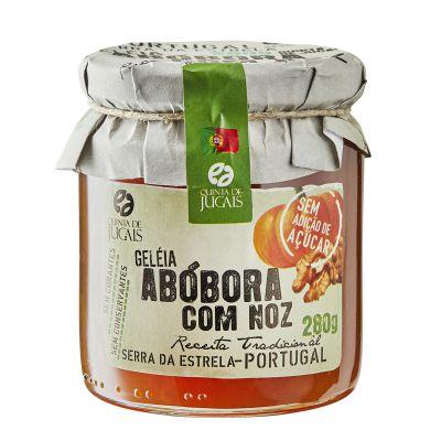 Geleia de Abóbora om Noz sem açúcar 280g Quinta dos Jugais