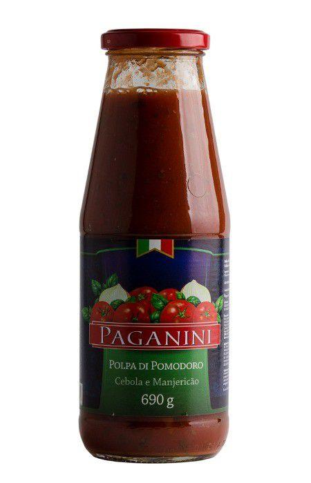 Polpa de Tomate com Manjericão 690g Paganini