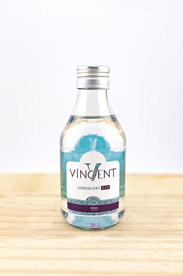 Gin London Dry 200ml Vincent Destilaria