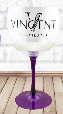 Taça para Gin Roxa Vincent Destilaria