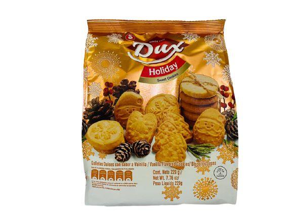 Biscoito de Natal baunilha Dux Holiday 220g