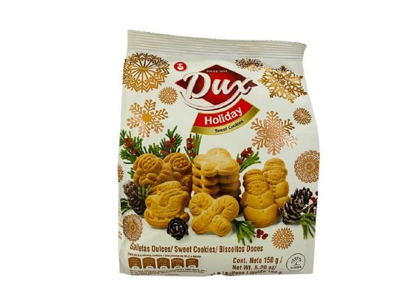 Biscoito de Natal baunilha Dux Holiday 150g