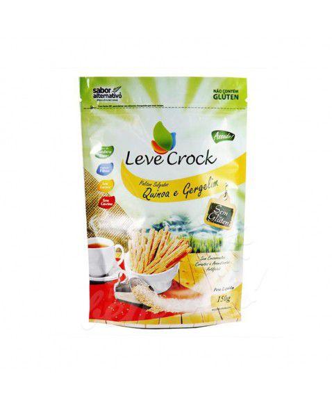 Palitos Salgados Quinoa e Gergelim Leve Crock 150g