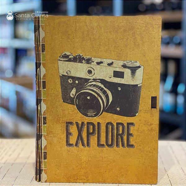 Caixa Livro Porta Objetos 16,5x23 Explore Ideias Ideias