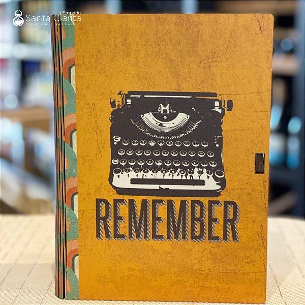 Caixa Livro Porta Objetos 16,5x23 Remember Ideias Ideias