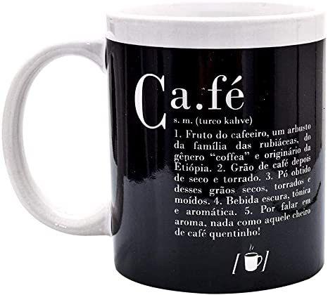 Caneca Dicionário Café Uatt