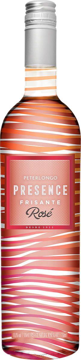 Frisante Rosé Presence Peterlongo