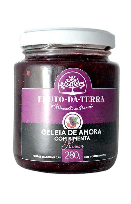 Geleia de Amora com Pimenta 280g Frutos da Terra