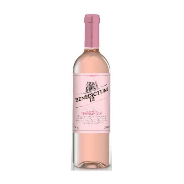 Vinho Rosé Tempranillo Benedictum III