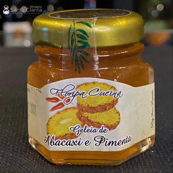 Mini Geleia Artesanal de Abacaxi com Pimenta 50g Floripa Cuccina