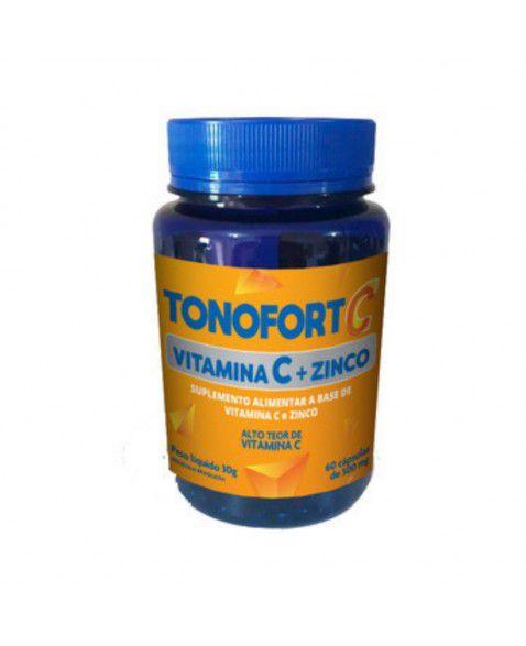 Vitamina C + Zinco Tonofort Doctor Berger 500mg 60 cápsulas