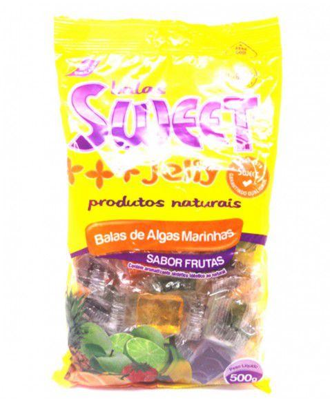 Balas Sweet Jelly 500g sabor Frutas