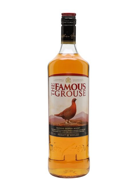 Whisky escocês Famous Grouse