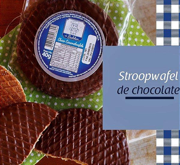 Stroopwaffles Chocolate De Bakker 210g