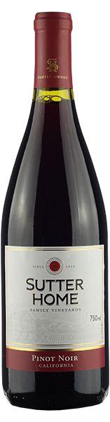 Vinho tinto Pinot noir Trinchero Sutter Home