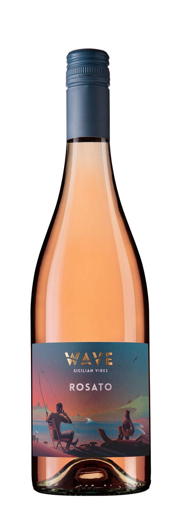 Vinho rose Wave Settesoli