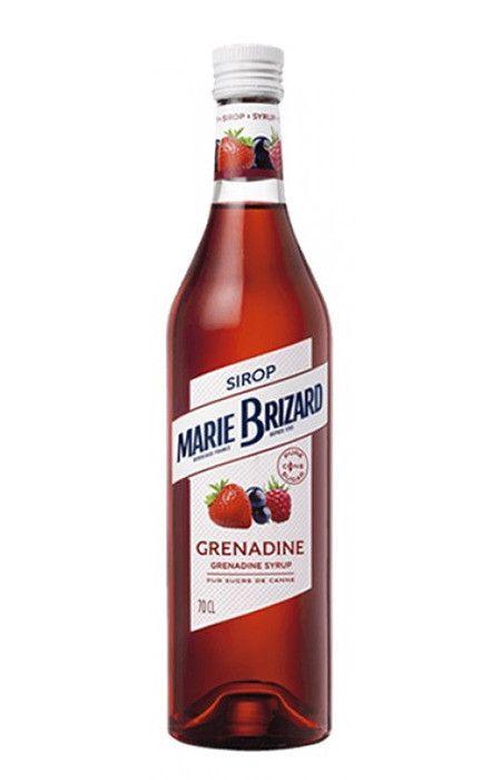 Xarope Grenadine (frutas vermelhas) Marie Brizard 700ml