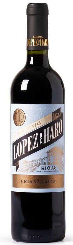 Vinho tinto Lopez de Haro Crianza DOCa