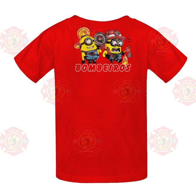Camiseta Minions Vermelha