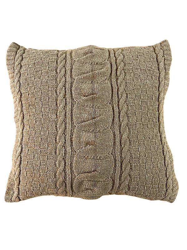 Capa de Almofada Mênfis Café 45x45cm